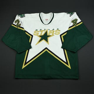 Perrott, Nathan White Set 1 Dallas Stars 2005-06 #24 Size: 56