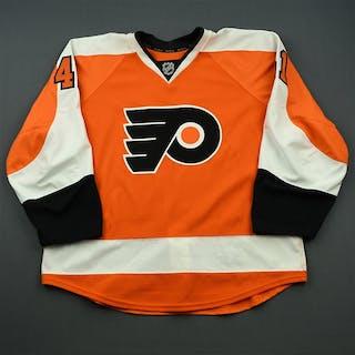 Jones, Blair Orange Set 2 - Game-Issued (GI) Philadelphia Flyers 2014-15