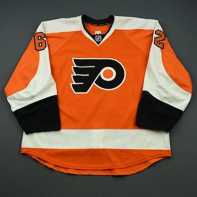 Konan, Matthew Orange Set 1 - Game-Issued (GI) Philadelphia Flyers