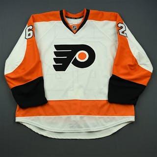 Konan, Matthew White Set 1 - Game-Issued (GI) Philadelphia Flyers