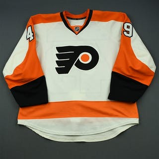 Laughton, Scott White Set 2 Philadelphia Flyers 2014-15 #49 Size: 56