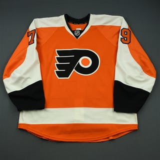 Marcotte, Louick Orange Set 1 - Rookie Game Only Philadelphia Flyers