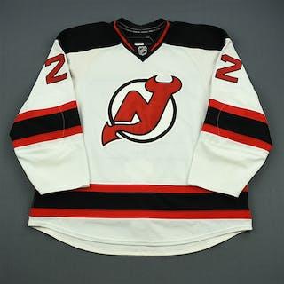 Letourneau-Leblond, Pierre-Luc White Set 1 New Jersey Devils 2010-11