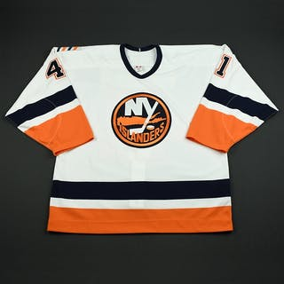 Mrazek, Jaroslav White Set 1 GI New York Islanders 2005-06 #41 Size: 54