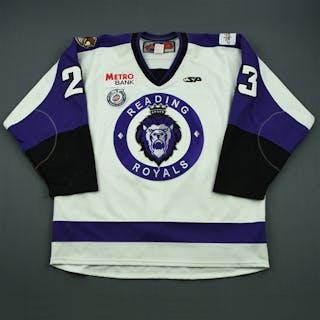 Wietecha, Scott White Set 1 Reading Royals 2012-13 #23 Size: 56