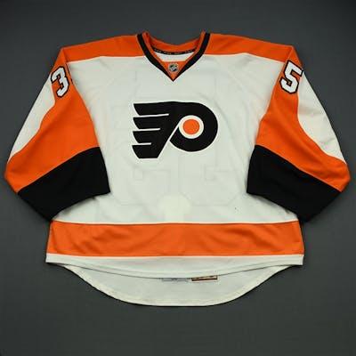 Mason, Steve White Set 3 Philadelphia Flyers 2014-15 #35 Size: 58G