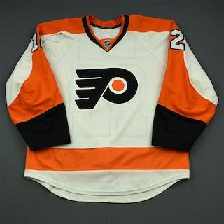 Raffl, Michael White Set 2 Philadelphia Flyers 2014-15 #12 Size: 54