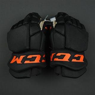 Weal, Jordan Stadium Series - CCM Tacks Gloves - 2/25/17 Philadelphia