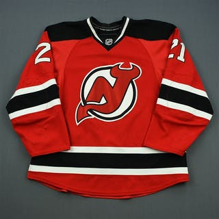 Tedenby, Mattias Red Set 3 New Jersey Devils 2010-11 #21 Size: 54