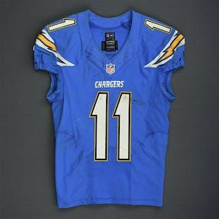 Royal, Eddie Powder Blue - worn October 19, 2014 vs. Kansas City Chiefs