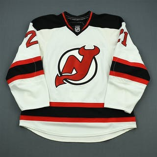 Tedenby, Mattias White Set 3 New Jersey Devils 2010-11 #21 Size: 54