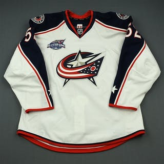Rychel, Kerby White Set 1 w/All-Star Game Patch - NHL Debut Columbus