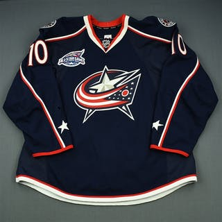 Skille, Jack Blue Set 2 w/All-Star Game Patch Columbus Blue Jackets