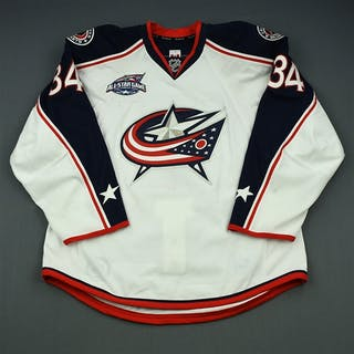 Tyrell, Dana White Set 1 w/All-Star Game Patch Columbus Blue Jackets