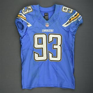 Freeney, Dwight Powder Blue - worn October 19, 2014 vs. Kansas City