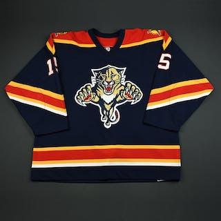 Messier, Eric Blue 1st Regular Season Florida Panthers 2003-04 #15 Size: 56