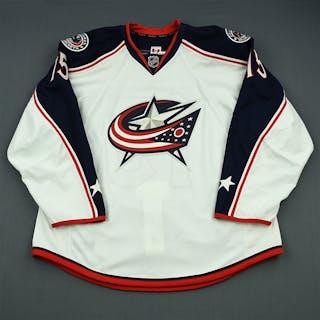 Schultz, Nick White Columbus Blue Jackets 2013-14 #15 Size: 56