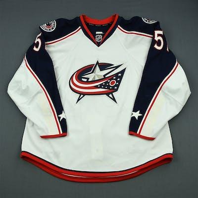Tyutin, Fedor White Columbus Blue Jackets 2013-14 #51 Size: 56