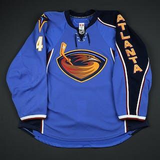 Bogosian, Zach Blue Set 2 Atlanta Thrashers 2010-11 #4 Size: 58