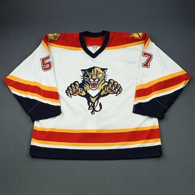 Stewart, Anthony White Set 2 Florida Panthers 2005-06 #57 Size: 56