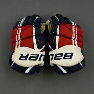 Latta, Michael Bauer Vapor APX Gloves Washington Capitals 2013-14 #46