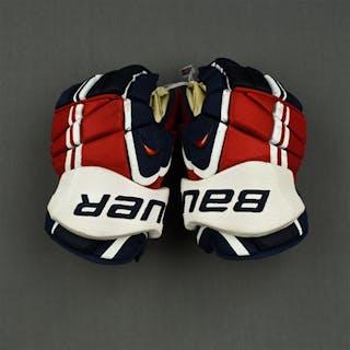 Laich, Brooks Bauer Vapor APX Gloves Washington Capitals 2014-15 #21