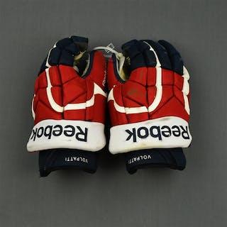 Volpatti, Aaron Reebok Gloves Washington Capitals 2014-15 #17