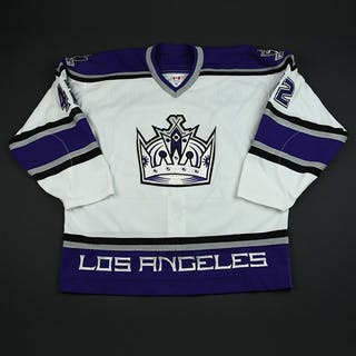 Gleason, Tim * White 3rd Regular Season Los Angeles Kings 2003-04 #42 Size: 56