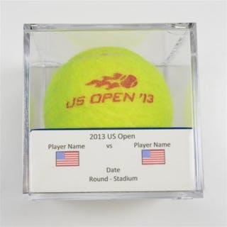 Caroline Garcia vs. Shelby Rogers Match-Used Ball - Round 1 - Court