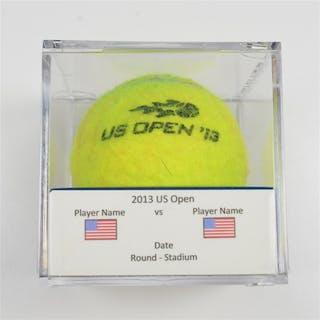 David Ferrer vs. Janko Tipsarevic Match-Used Ball - Round 4 - Grandstand