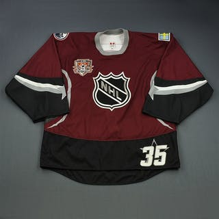 Salo, Tommy * Burgundy, Autographed NHL All Star 2001-02 #35 Size: 58G