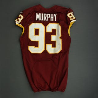 Murphy, Trent Burgundy - Worn October 27, 2014 vs. Dallas Cowboys