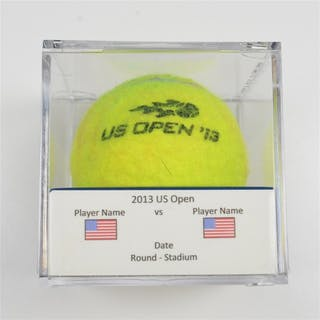 Richard Gasquet vs. Milos Raonic Match-Used Ball - Round 4 -Court