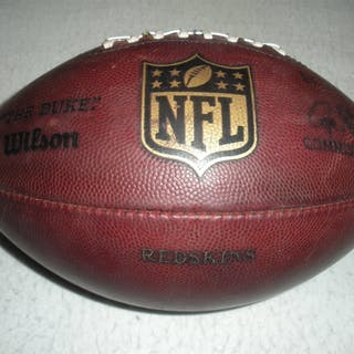 Game-Used Football Game-Used Football from September 14, 2014 vs.