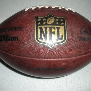 Game-Used Football Game-Used Football from September 25, 2014 vs.