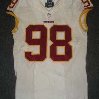 Orakpo, Brian White - Worn October 12, 2014 vs. Arizona Cardinals