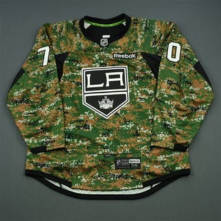 Pearson, Tanner Camouflage, Military Appreciation Warm-up, November