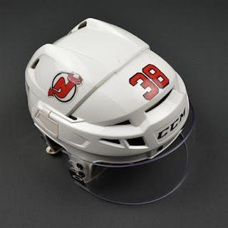 Fiddler, Vernon White, CCM Helmet w/ Oakley Shield New Jersey Devils