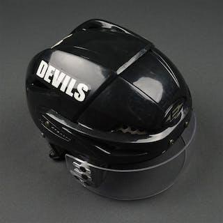 Gionta, Brian Black, Easton Helmet w/ Itech Shield New Jersey Devils