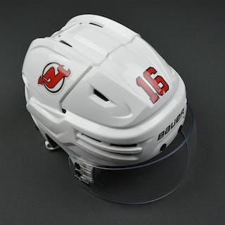 Josefson, Jacob White, Bauer Helmet w/ Bauer Shield & NHL Centennial
