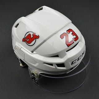 Noesen, Stefan White, CCM Helmet w/ Oakley Shield & NHL Centennial