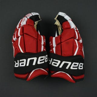 Palmieri, Kyle Bauer Supreme TotalONE MX3 Gloves New Jersey Devils Size: 14