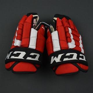 Parenteau, PA CCM Gloves New Jersey Devils
