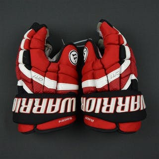 Quincy, Kyle Warrior Covert QR1 Gloves New Jersey Devils Size:14