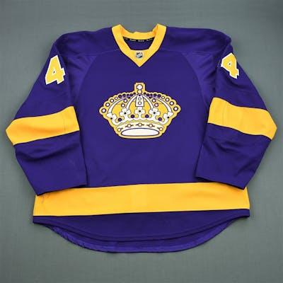 Drewiske, Davis Purple Vintage Los Angeles Kings 2012-13 #44 Size: 58