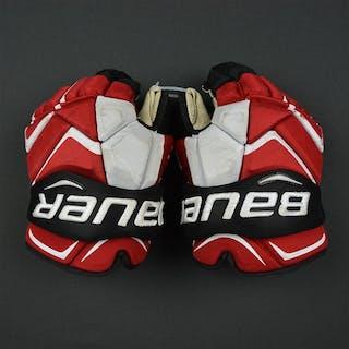 Zajac, Travis Bauer Vapor 1X Gloves New Jersey Devils Size:14