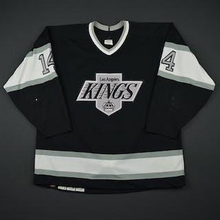 Granato, Tony * Black Los Angeles Kings 1989-90 #14 Size:52