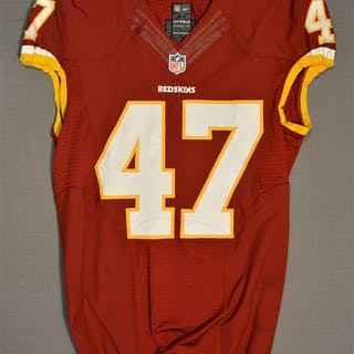 Davis, Akeem Burgundy Regular Season Washington Redskins 2014 #47 Size: 44 L-BK
