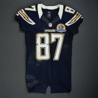 Spurlock, Michael Navy - worn December 30, 2012 vs. Oakland and December