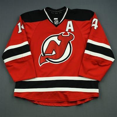 Henrique, Adam Red Set 1 w/A New Jersey Devils 2014-15 #14 Size: 56